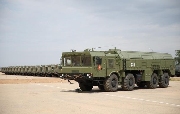 В России ракетную бригаду с Искандерами подняли по тревоге