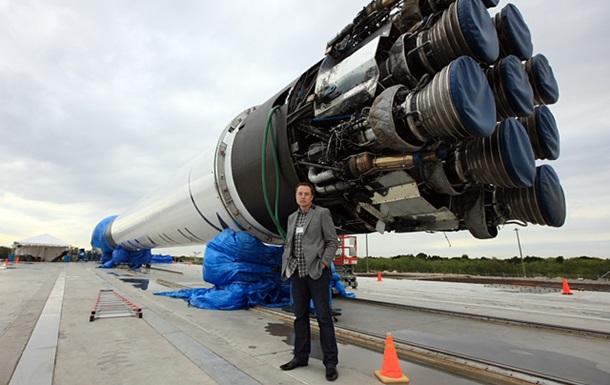 SpaceX показала видео жесткой посадки Falcon 9