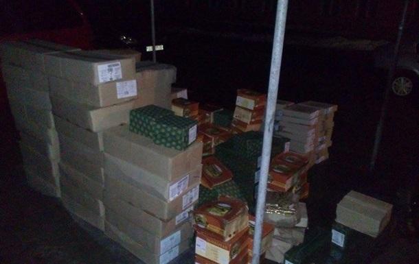 В ЛНР пытались провезти сыра на полмиллиона