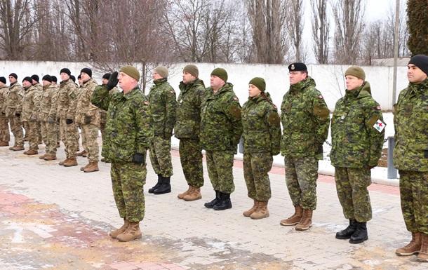 Канадские инструкторы начали обучение украинских саперов