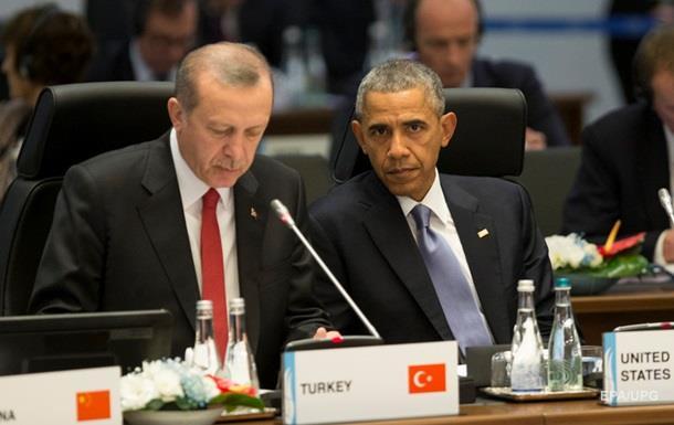 Обама обсудил с президентом Турции борьбу с терроризмом