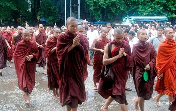 В Мьянме арестован лидер  шафрановой революции
