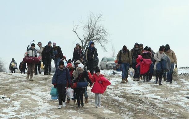 Австрия ввела лимит на прием беженцев