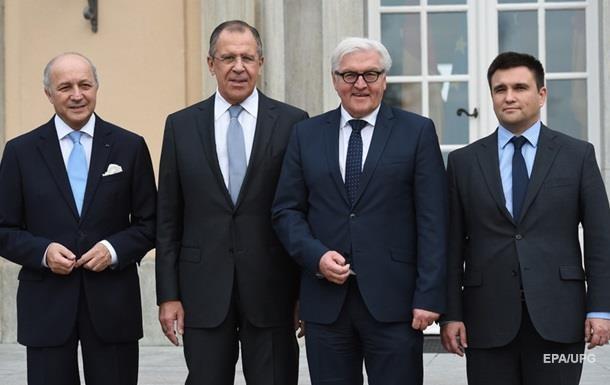 Климкин анонсировал новую встречу глав МИД  четверки
