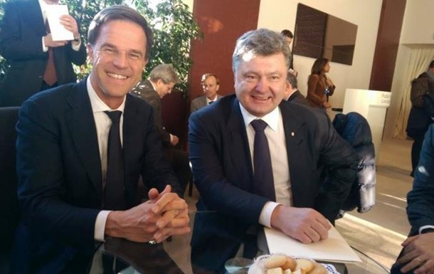 Киев и Амстердам обсудили предстоящий референдум