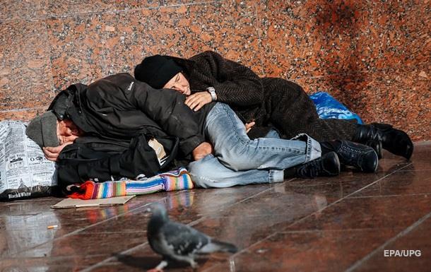 В Украине насчитали 16 тысяч бездомных
