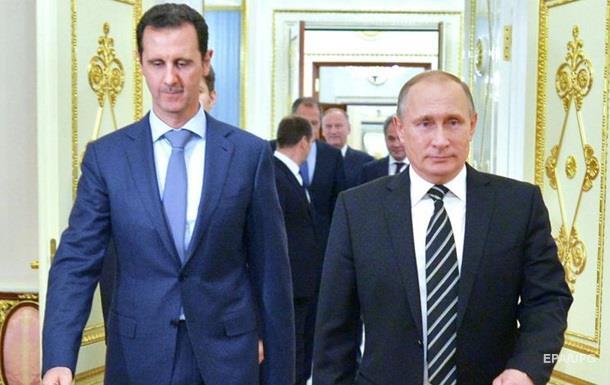 Путин просил Асада сложить полномочия – FT