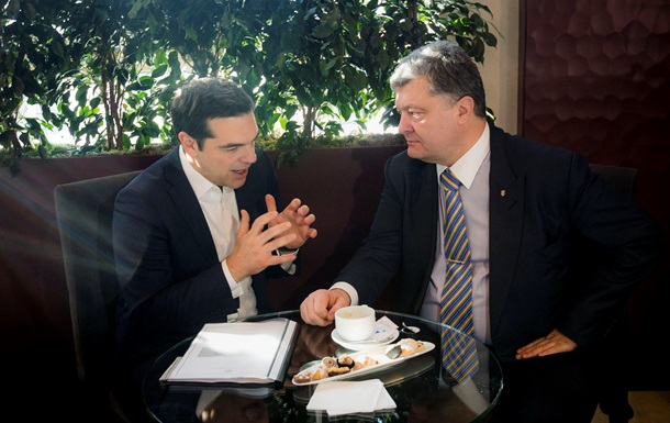 Премьер Греции Ципрас посетит Украину