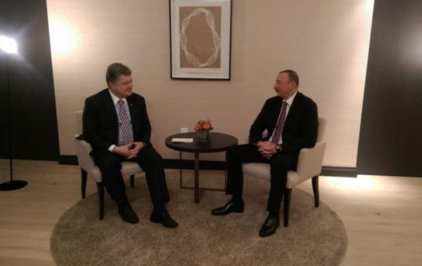 Киев и Баку обсудили транзит через Каспийское море