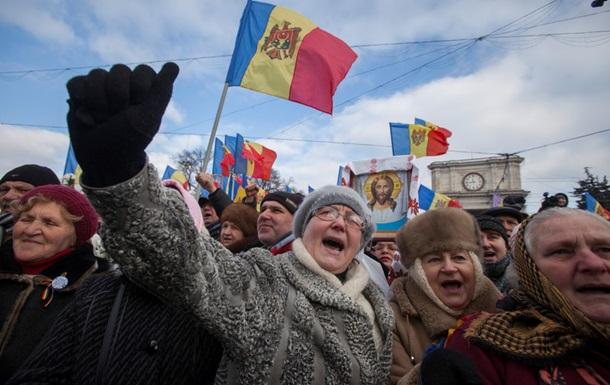 В Молдове продолжаются многотысячные протесты