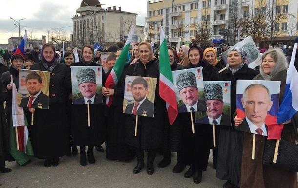 В Дагестане полиция сорвала акцию в поддержку Путина