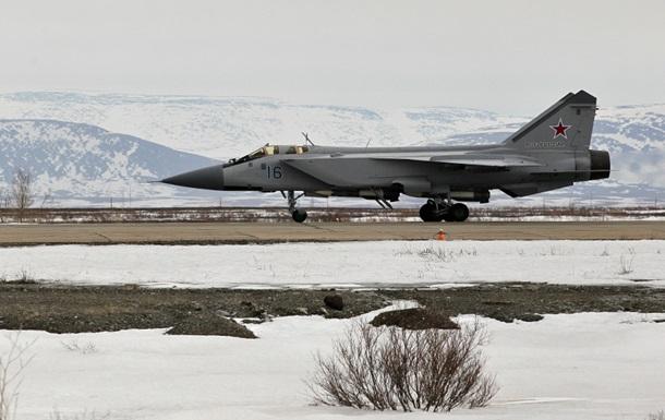 В России разбился истребитель МиГ-31