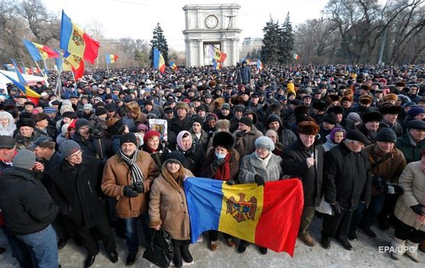 Протестующие в Молдове отказались от переговоров