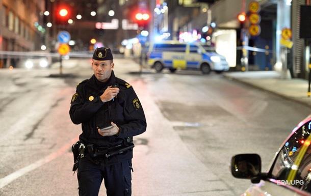 В торговом центре Стокгольма произошел взрыв