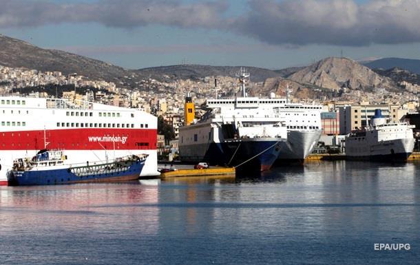 В Греции снова бастуют моряки