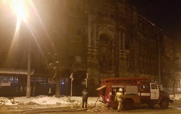 В Одессе ночью горел памятник архитектуры