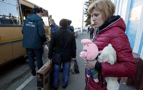 Россия подсчитала траты на украинских беженцев