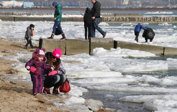 В Киеве установлен температурный рекорд