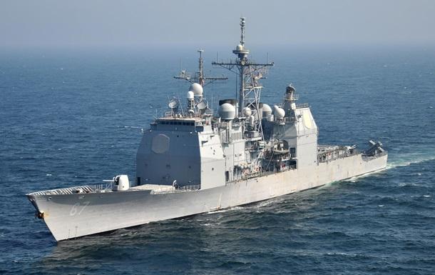 Беспилотник Ирана пролетел над кораблем ВМС США