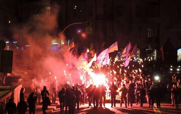 Итоги 29 января: Обвал гривны, факельные шествия