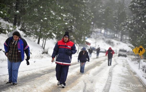 В 23 штатах Мексики введен режим ЧС из-за холодов