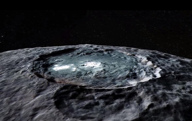 NASA показало полет над загадочной Церерой