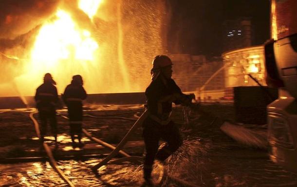 На Тайване произошел пожар на химическом заводе