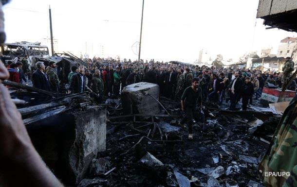 Число жертв терактов в Дамаске возросло до 71