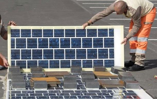 Франция построит 1000 км дорог с солнечными батареями