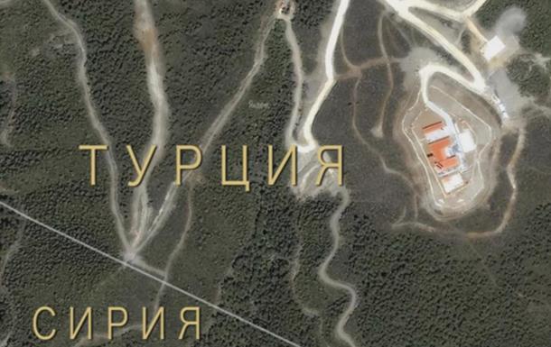РФ показала обстрелы Сирии со стороны Турции