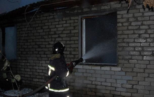 В Одесской области при пожаре погибла мать с двумя детьми