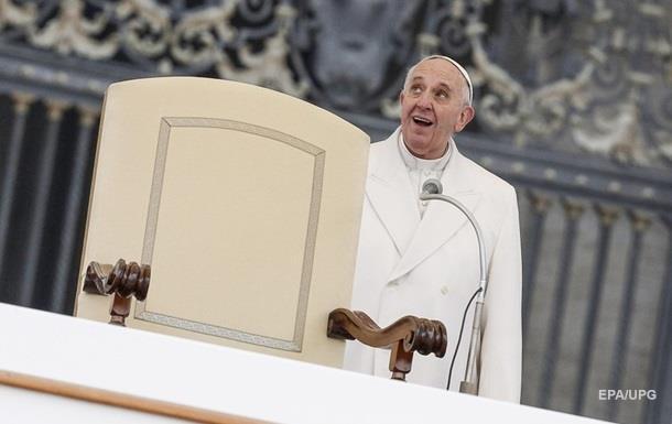 Папа Римский впервые снимется в художественном фильме