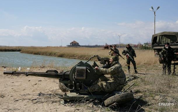 Бои под Мариуполем и обстрелы по фронту. Карта АТО