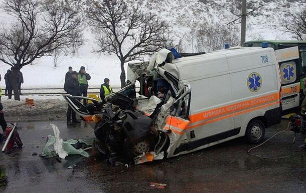Выросло число жертв ДТП со  скорой  в Харькове