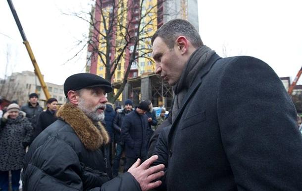 В Киеве впервые сносят незаконно построенную многоэтажку