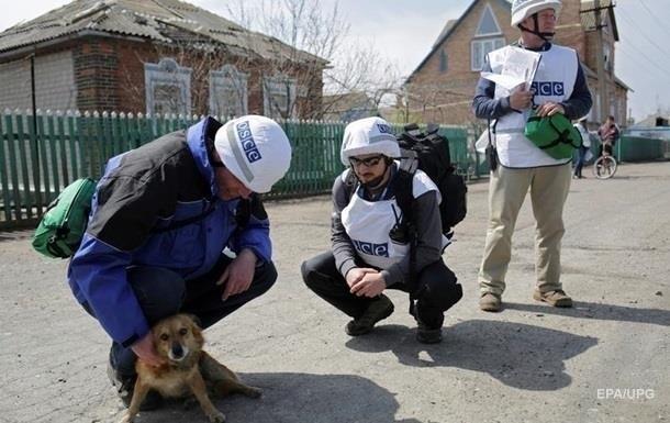 Возле ж/д вокзала Донецка прозвучало более 500 взрывов - ОБСЕ