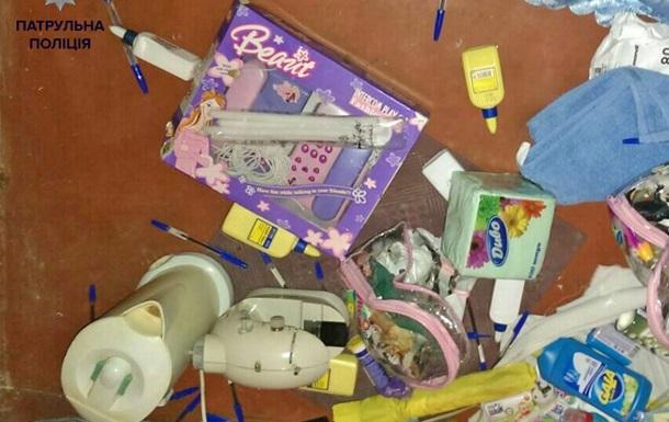 В Киеве ограбили детский сад: вынесли мыло и игрушки