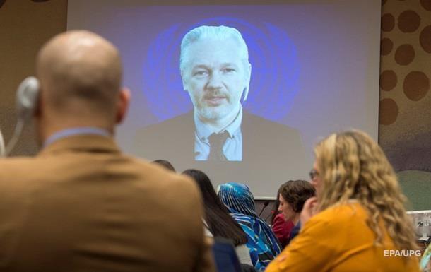 ООН признала ограничение свободы Ассанжа незаконным