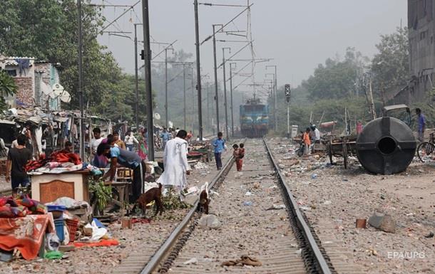 В Індії зійшов з колії потяг: 40 постраждалих