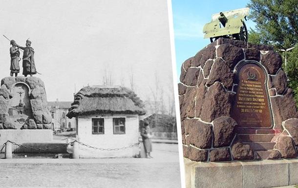История одного памятника