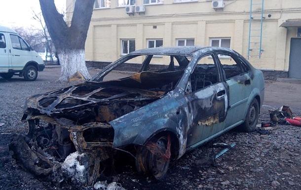 В Киеве сожгли авто директора коммунального предприятия
