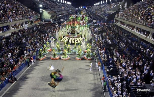 В Рио-де-Жанейро стартовал ежегодный карнавал