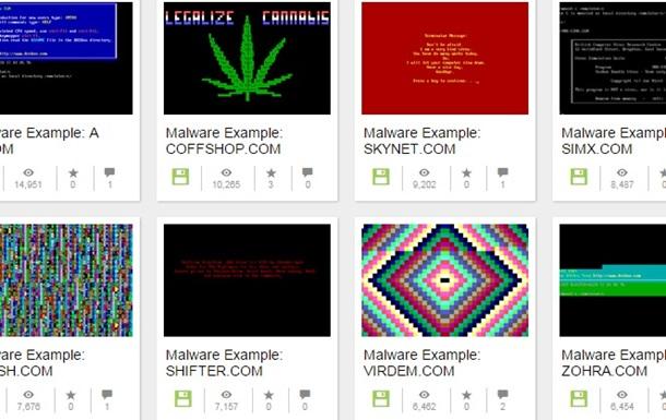 У мережі з явився музей комп ютерних вірусів 20 століття