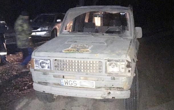 На Днепропетровщине задержали военных, перевозивших оружие