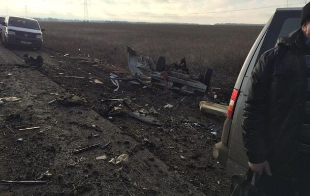 Взрыв автобуса под Марьинкой