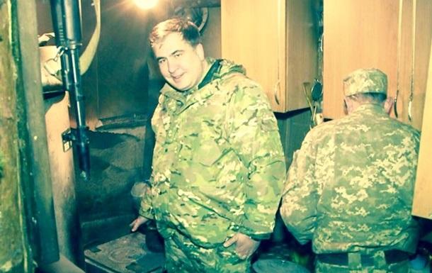 Саакашвили подозревают в раскрытии секретов АТО