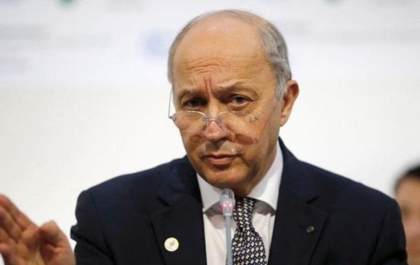 Глава МЗС Франції йде у відставку