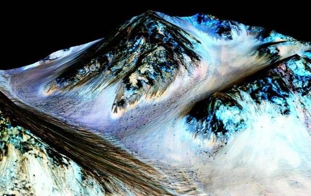 Появилось фото потенциально обитаемого озера на Марсе