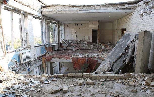 HRW: Школьники на Донбассе не могут учиться из-за разрушенных школ