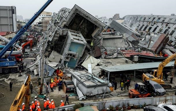 Число погибших при землетрясении на Тайване достигло 108